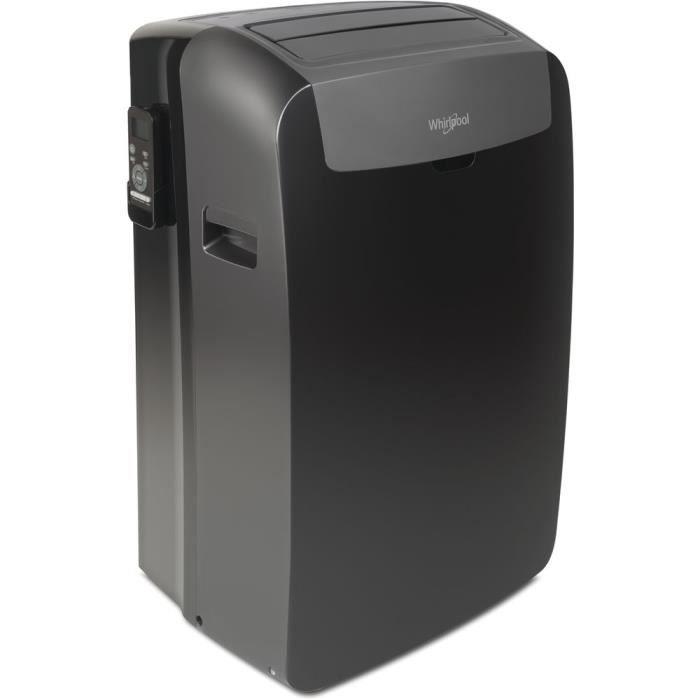 Climatiseur mobile réversible WHIRLPOOL Pacb29hp noir