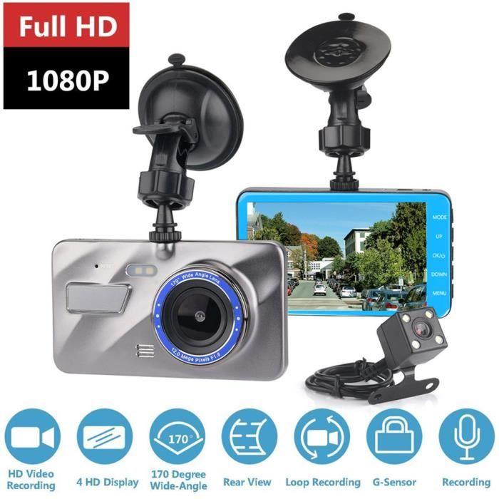 TOGUARD Dash Cam 4K dans la Voiture Ultra HD Car Camera de Conduite Enregistreur Vid/éo 3 Pouces /Écran Tableau de Bord Appareil Photo avec WDR Boucle Enregistrement G-capteur Parking Moniteur