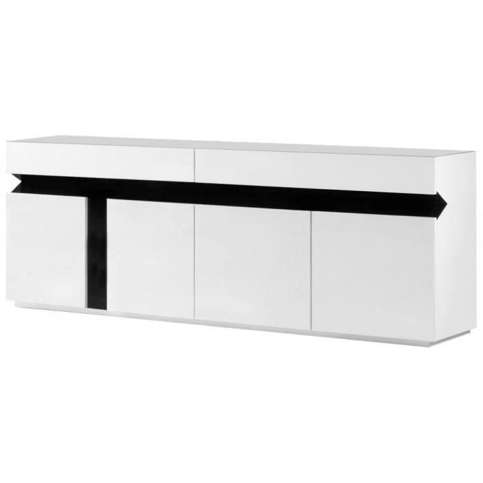 buffet laque blanc ikea maison design. Black Bedroom Furniture Sets. Home Design Ideas
