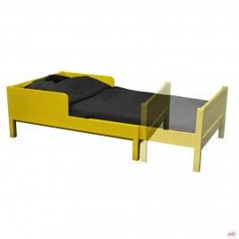 lit enfant extensible colors jaune achat vente lit complet lit enfant extensible color pin. Black Bedroom Furniture Sets. Home Design Ideas