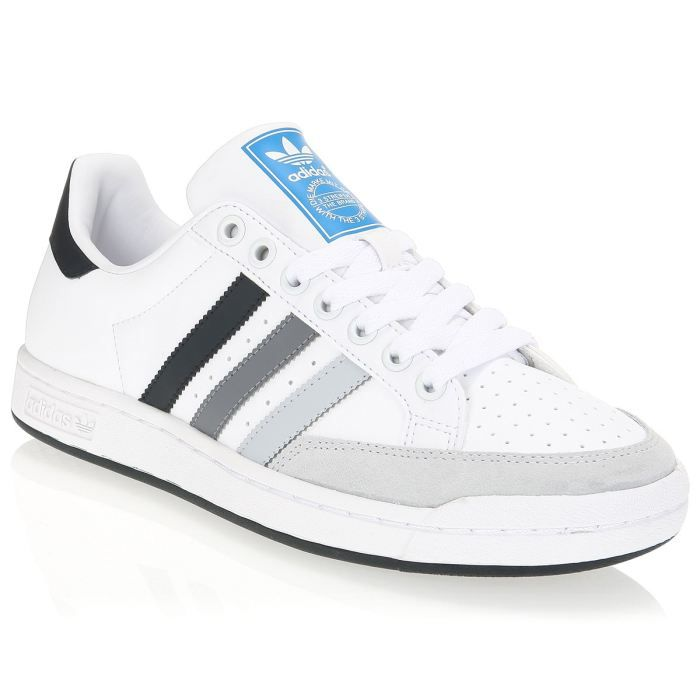 adidas baskets tennis pro homme homme blanc gris et noir achat vente adidas baskets tennis. Black Bedroom Furniture Sets. Home Design Ideas