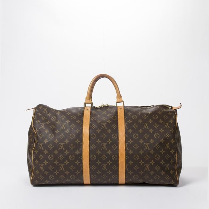 0c2c7c96ca1 Louis Vuitton - Sac de voyage - Monogram Canvas Brown - 107 - Achat ...