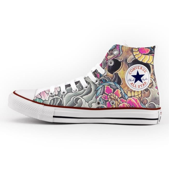Converse customisées | customiser | Converse, Personnaliser