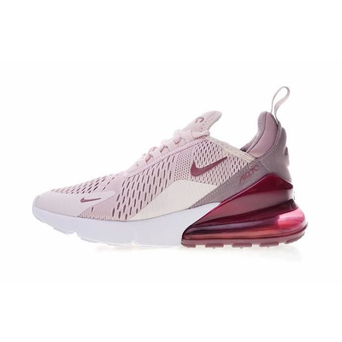 Baskets Nike Air Max 270 Running Chaussures Femme Rose