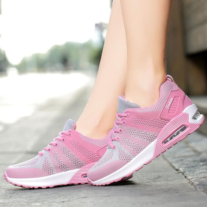 BASKET Chaussures de marche Casual Sneakers travail Mesh-