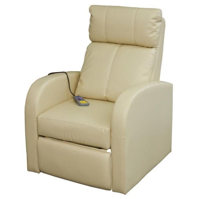 FAUTEUIL Fauteuil de massage Fauteuil de soins Relaxant 75
