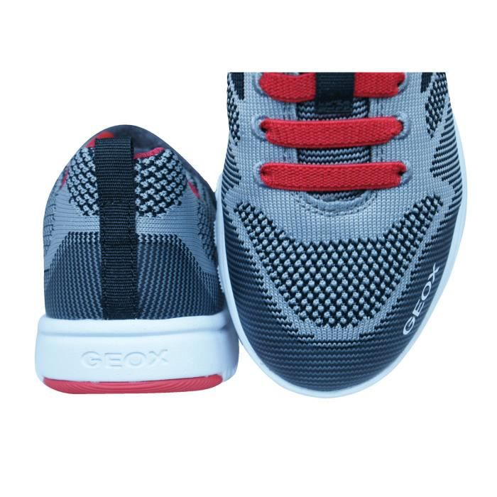 Geox J Xunday B J Garçons baskets Gris 3 yt2WU5Jr9