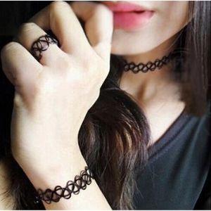 KIT BIJOUX Focus Vogue Rétro-tatouage collier magique avec ba