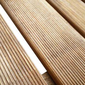 REVETEMENT EN PLANCHE Dalles de terrasse 6 pcs 50x50 cm Bois FSC Marron-