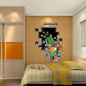 stickers minecraft achat vente pas cher. Black Bedroom Furniture Sets. Home Design Ideas