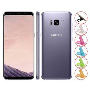 SMARTPHONE 5.8'' pourpre Samsung Galaxy S8 SD835 G950U 64GB o