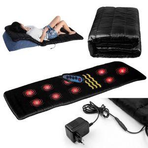 APPAREIL DE MASSAGE  Matelas de massage chauffant 180*560cm Noir