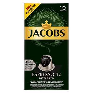 CAFÉ  Jacobs Espresso Ristretto 12 Capsules d'aluminium