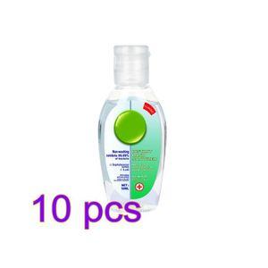 KIT HYGIÈNE INTIME 10pcs portable 50ML gel jetable désinfectant pour
