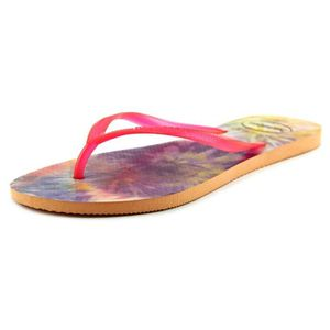 TONG Havaianas Slim Tie Dye Femmes Synthétique Tongs