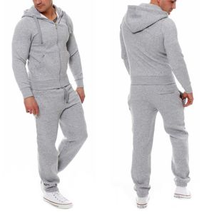 Ensemble de vêtements Jogging Costumes homes Hoodies Sweatshirt Sport en