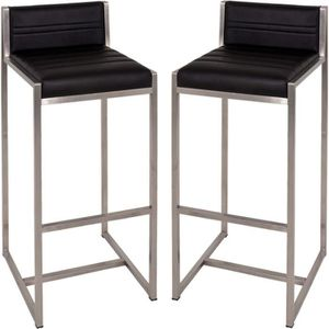 tabouret inox achat vente tabouret inox pas cher cdiscount. Black Bedroom Furniture Sets. Home Design Ideas