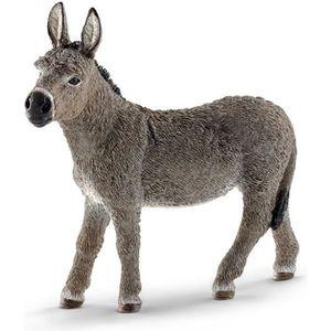 FIGURINE - PERSONNAGE Schleich Figurine 13772 - Animal de la ferme - Âne