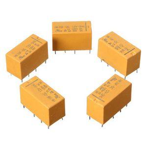 10/pcs Hk19/F Mini Relais de puissance DC 12/V PCB type SHG Coil DPDT 8/broches mini Relais de puissance de