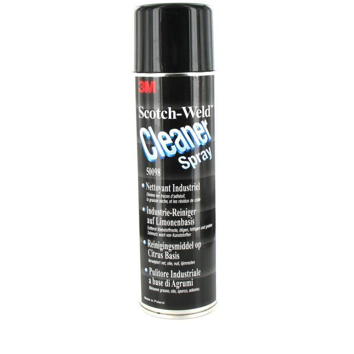 Nettoyant industriel 3M Scotch-Weld Cleaner Spray