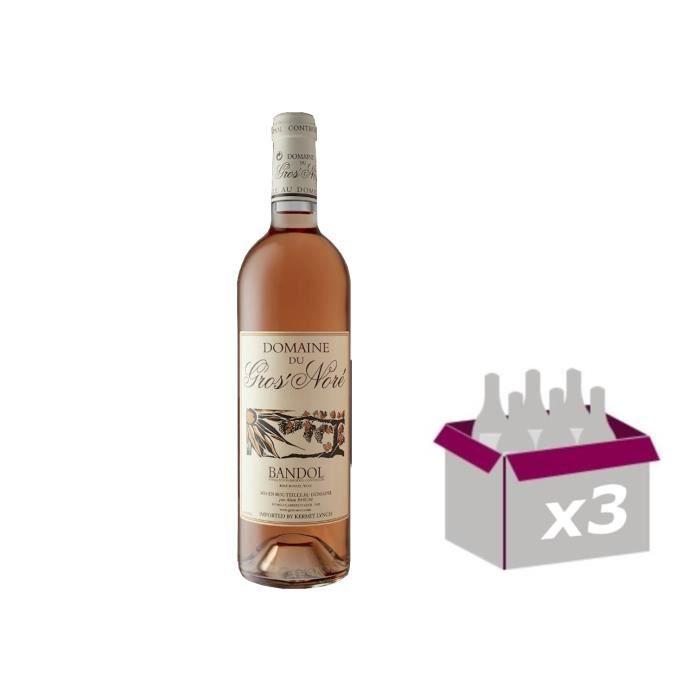 Domaine Gros Noré - Bandol Rosé 2019 3 * 75cl
