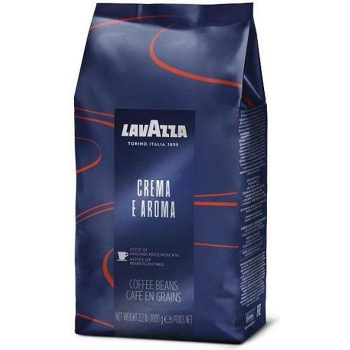 Cafe En Grains Crema Et Aroma - 1kg - Lavazza