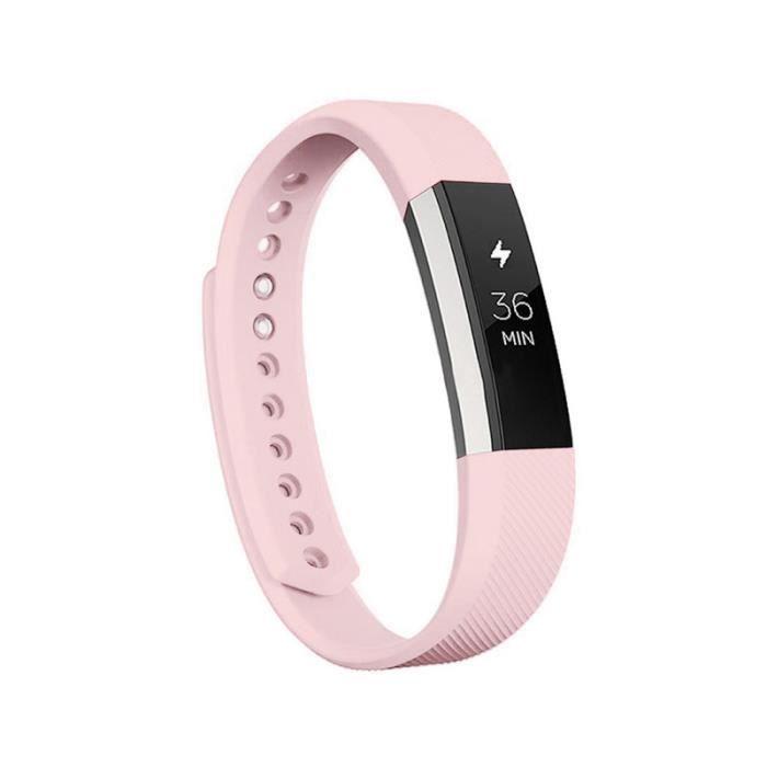 Fitbit Alta - HR Bracelet de remplacement bande de poignet Rose S