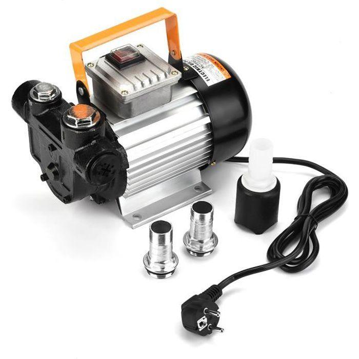 Pompe a fioul,Pompe à Fuel Gasoil bio Autoaspirante 230V 550W 20-60L-min -HB065