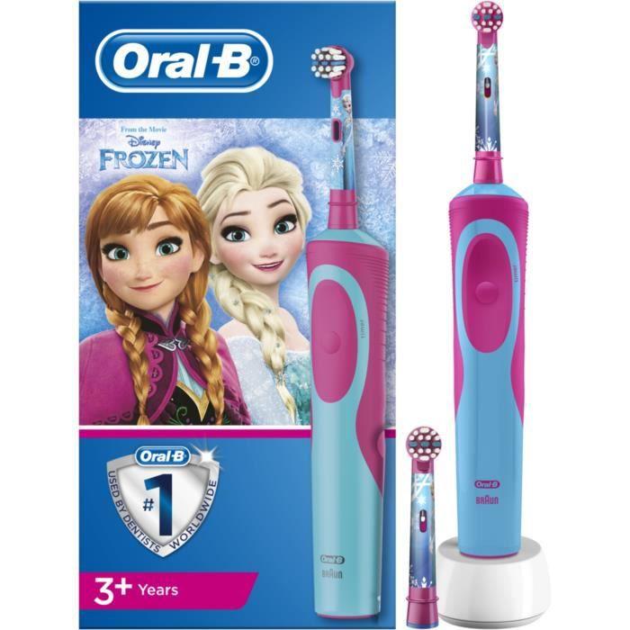 Braun Brosse a dents electrique 80313791 brosse à dents électrique Enfant Brosse à dents rotative oscillante Multicolore