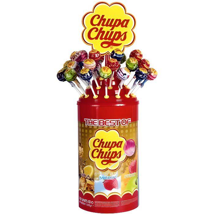 Le meilleur de sucettes Chupa Chups, 100 sucettes