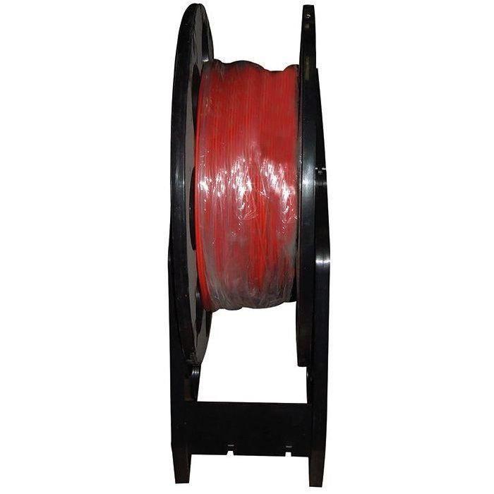Câble HO7VR 10mm² rouge touret 200 m