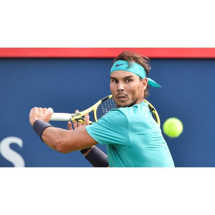 Poster Affiche Revers Une Main Rafael Nadal Tennis Superstar Sport 31cm x 56cm