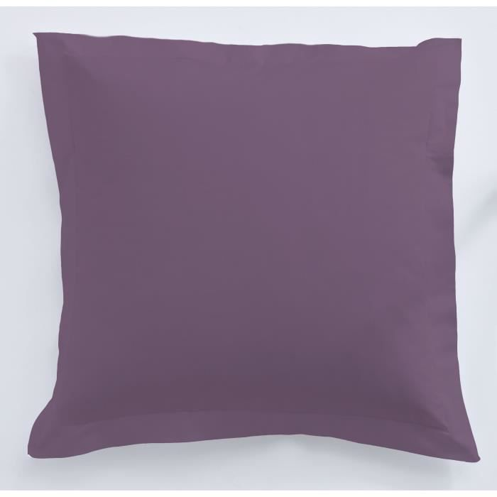 TODAY Taie d'oreiller 100% coton - 75x75 cm - Figue