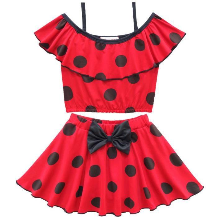 Miraculous Ladybug Filles Maillot de bain