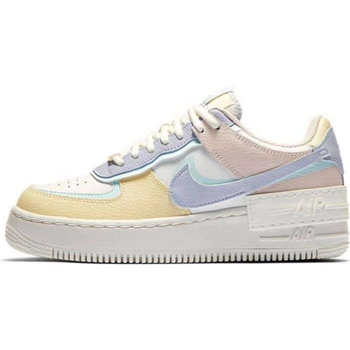 Basket Air Force 1 Shadow Air Force One AF 1 Low Chaussures de Running Femme CI0919-1106