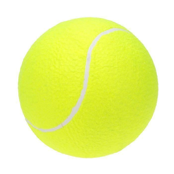 Balle de Tennis Jeux Surdimensionnée Géante pour les Enfants Adultes