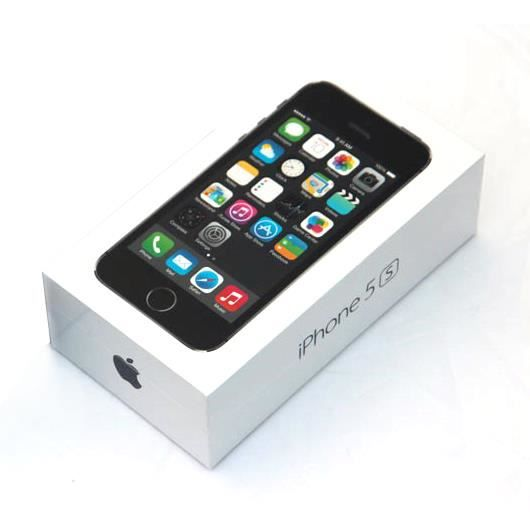 boite apple iphone 5s noir avec accessoires accessoire. Black Bedroom Furniture Sets. Home Design Ideas