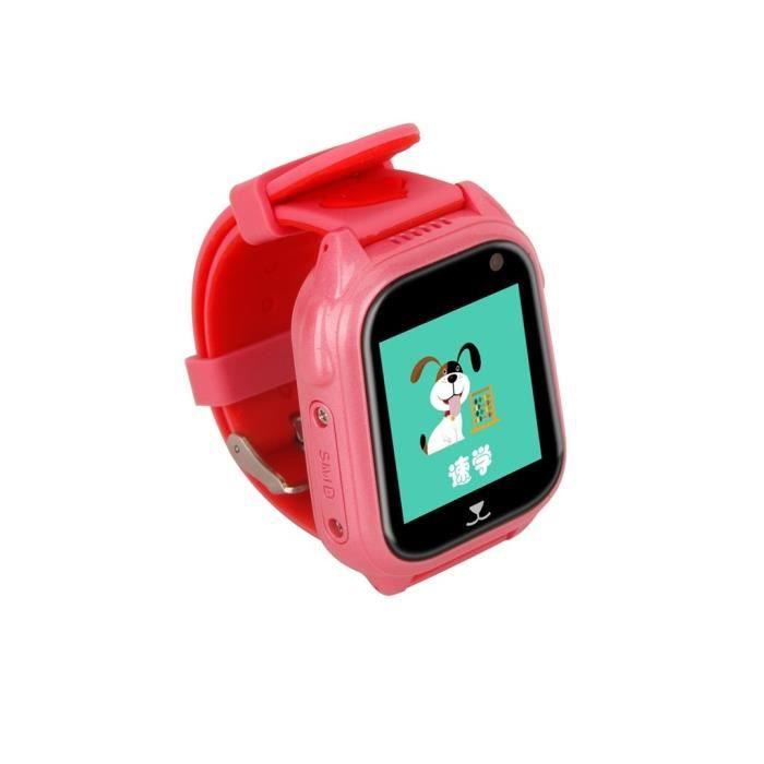 MONTRE Enfants GPS Locator Trackers Montre intelligente T