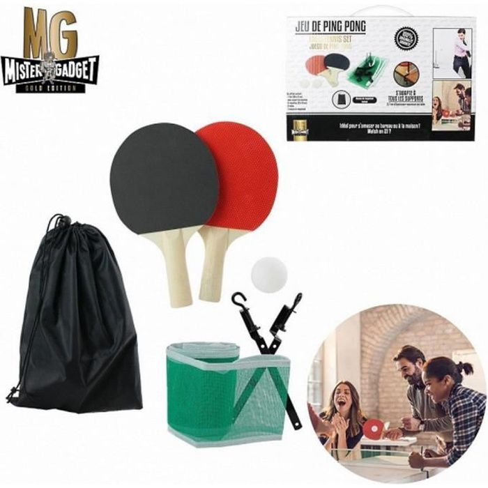 Neuf Plus loin de tennis de filet de badminton r/églable pliable standard International Grande 20/en