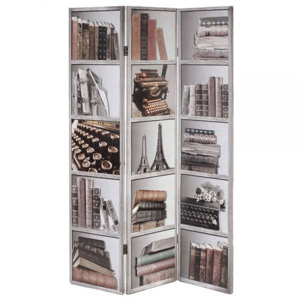 paravent livres achat vente paravent cdiscount. Black Bedroom Furniture Sets. Home Design Ideas