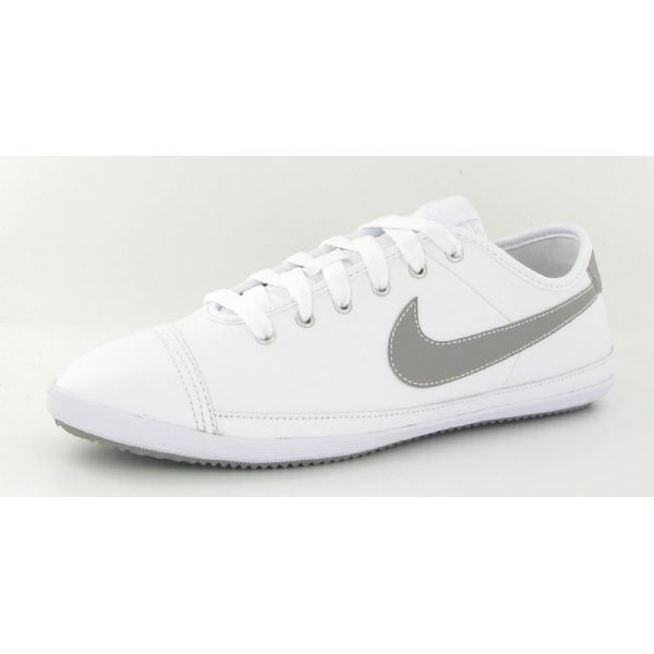 Chaussures Nike Flash Leather Blanc Blanc - Achat / Vente ...