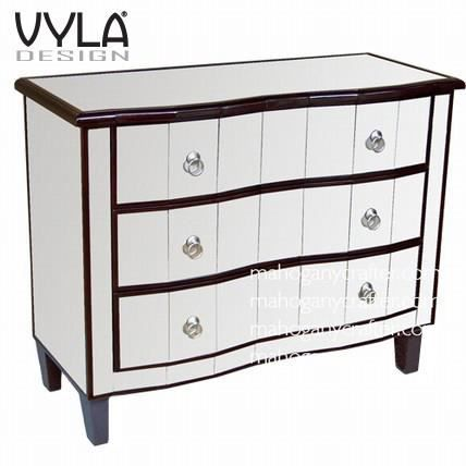 commode galb e miroir vyla design achat vente commode de chambre commode galb e miroir. Black Bedroom Furniture Sets. Home Design Ideas