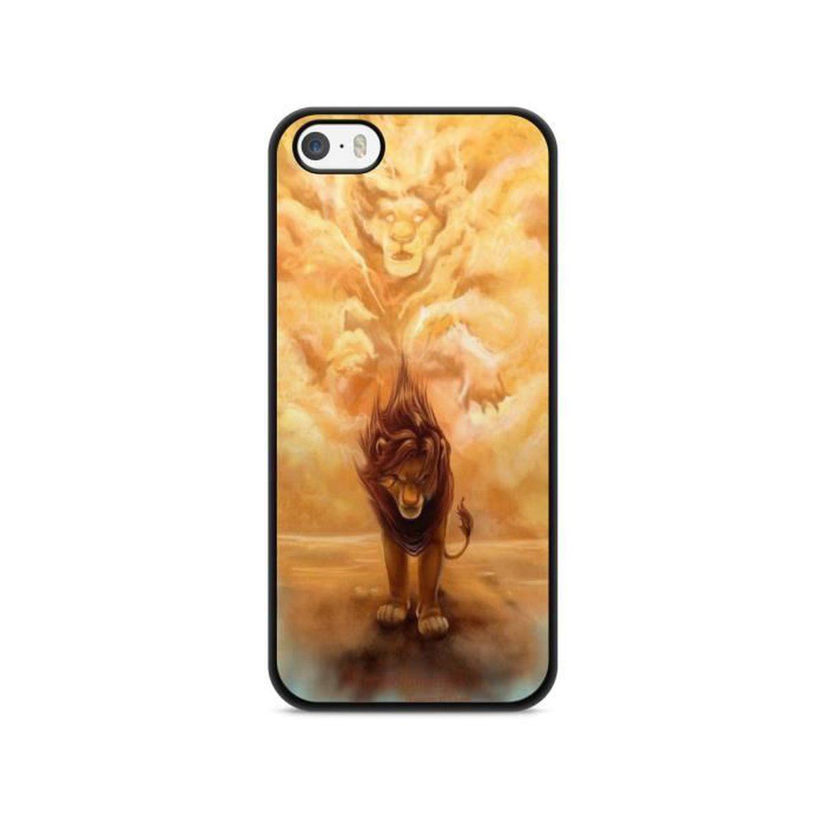 coque iphone 7 plus roi lion simba pumba lion king