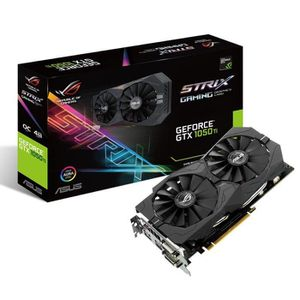 CARTE GRAPHIQUE INTERNE Carte graphique GeForce GTX 1050 Ti - ROG