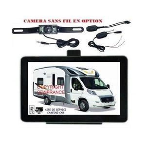 PACK GPS AUTO NAVIGATEUR GPS 7 POUCES SPECIAL CAMPING CAR 2020