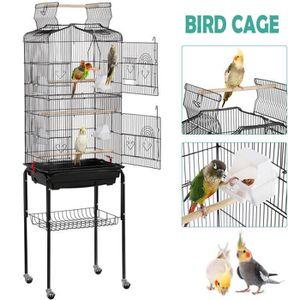 Poils Plumes Oiseau Cage à Oiseau Origami En Métal