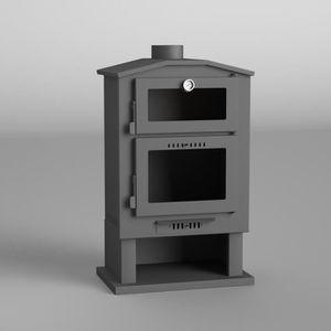 gamme /économique Alu R/éf. 6500002 THECA Po/êle /à bois turbo sans grille int/érieure