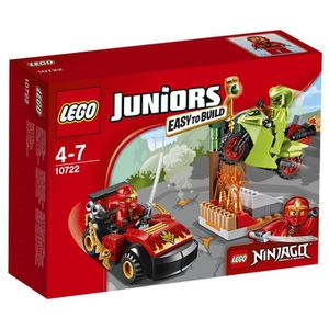 ASSEMBLAGE CONSTRUCTION LEGO® Juniors 10722 L'Attaque du Serpent Ninjago -
