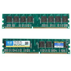 MÉMOIRE RAM NEUFU XIEDE Lot de 2pcs 1 G GO GB Mémoire Ram DDR-