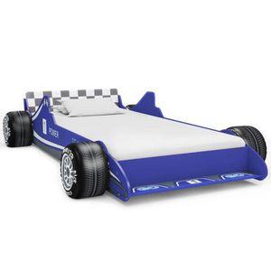 STRUCTURE DE LIT vidaXL Lit voiture de course pour enfants 90 x 200